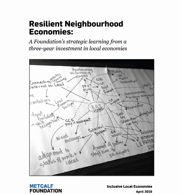 Resilient Neighbourhood Economies Report 2016