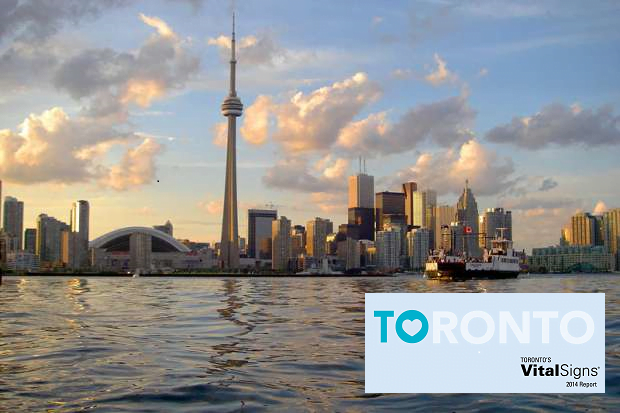 Toronto Vital Signs Report 2014