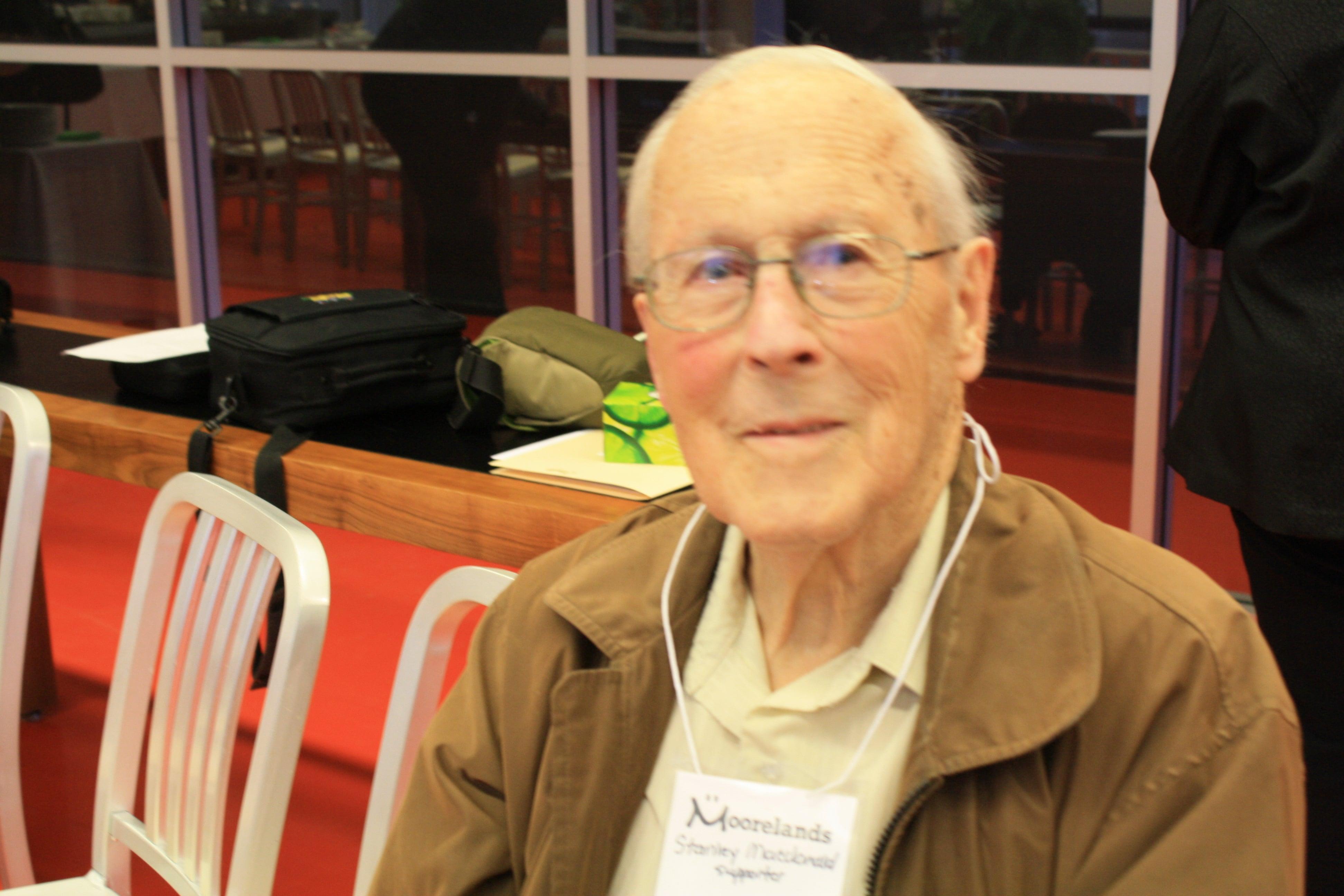 AGM 20106: Century Club Member Stanley Macdonald.