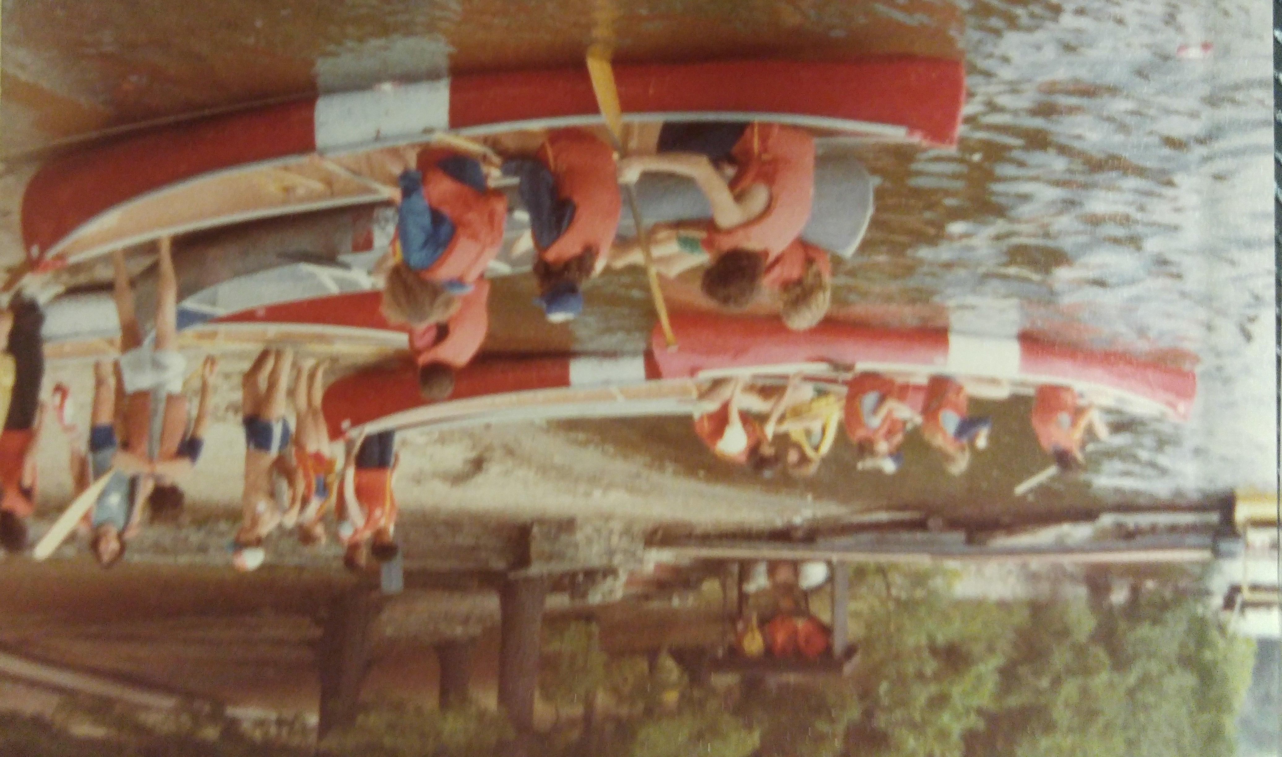 Victoria Swindell canoes