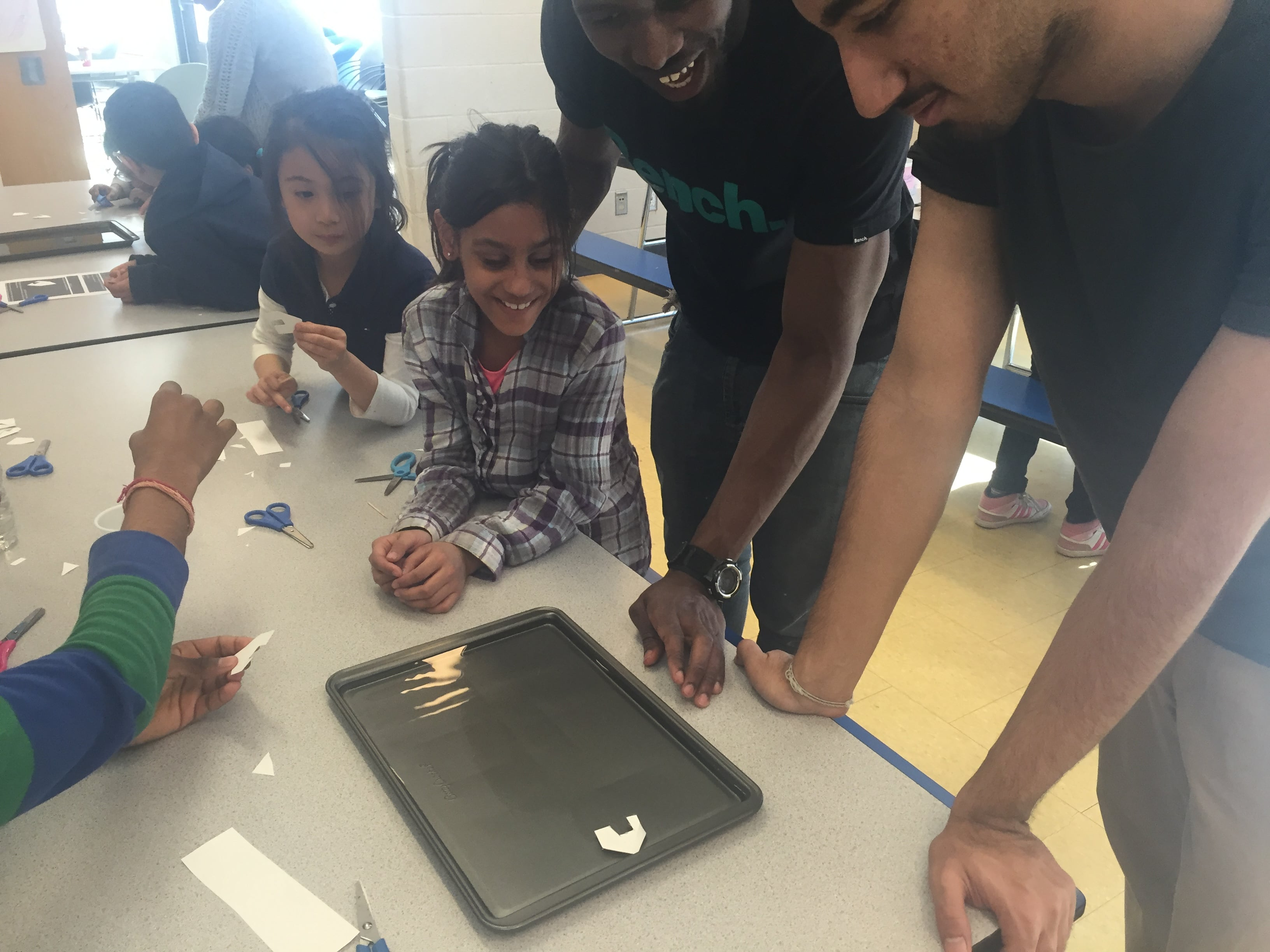 Budding Community Leaders experiment with soup powered boats