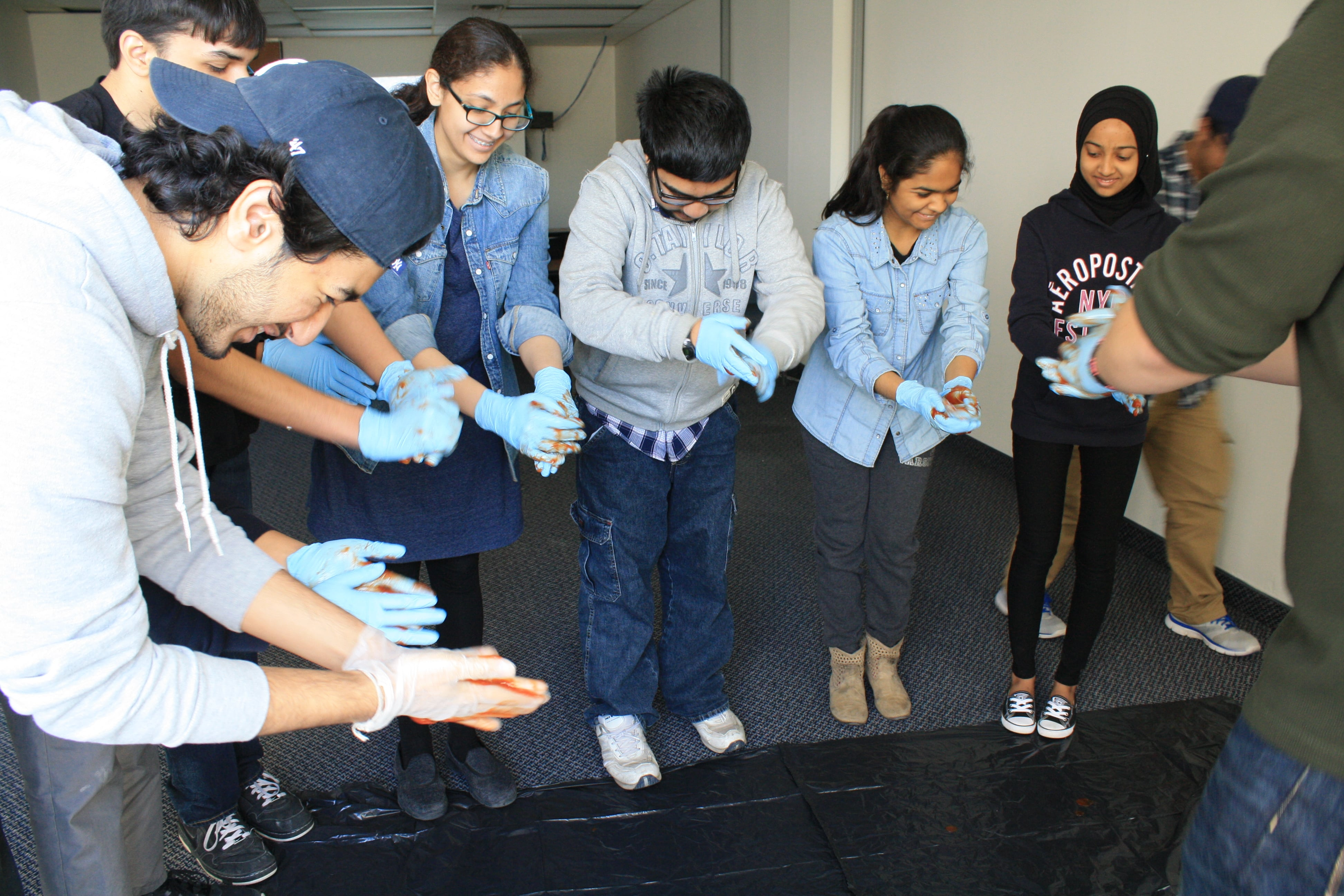 Community leaders - Youth LED kids learn first aid