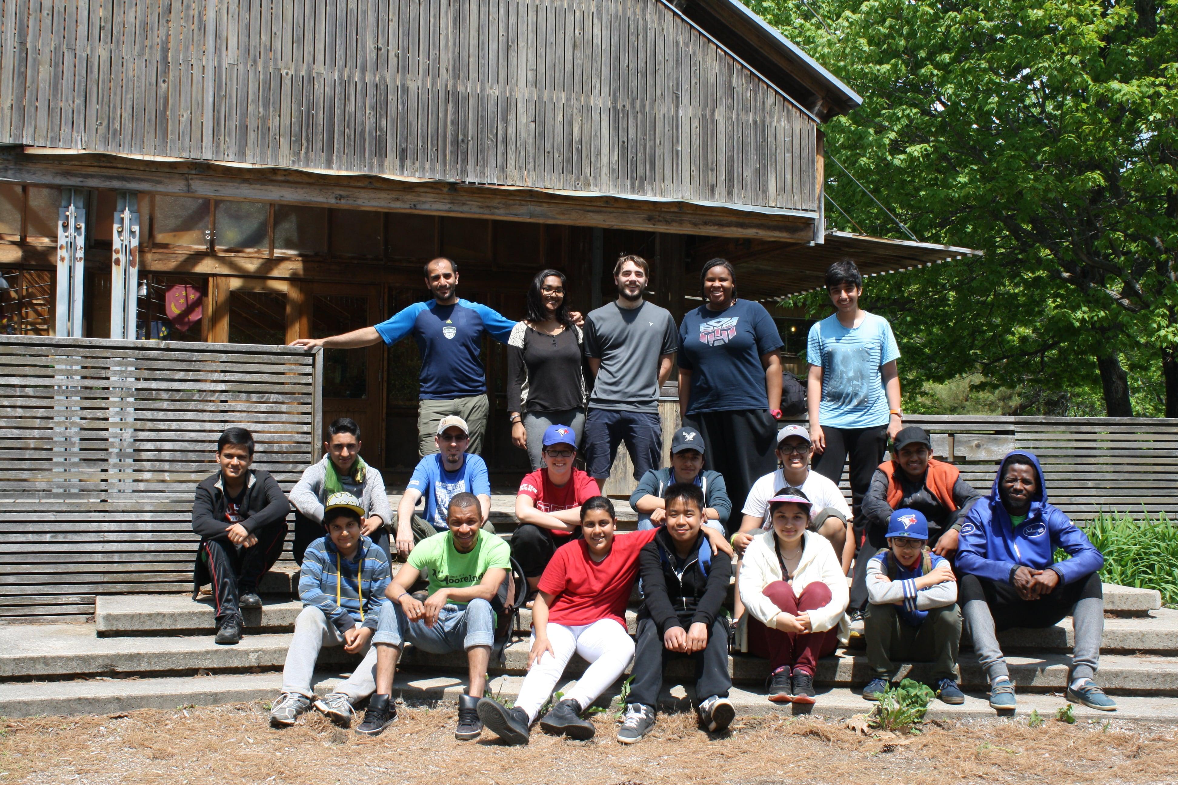 leadership weekend group shot