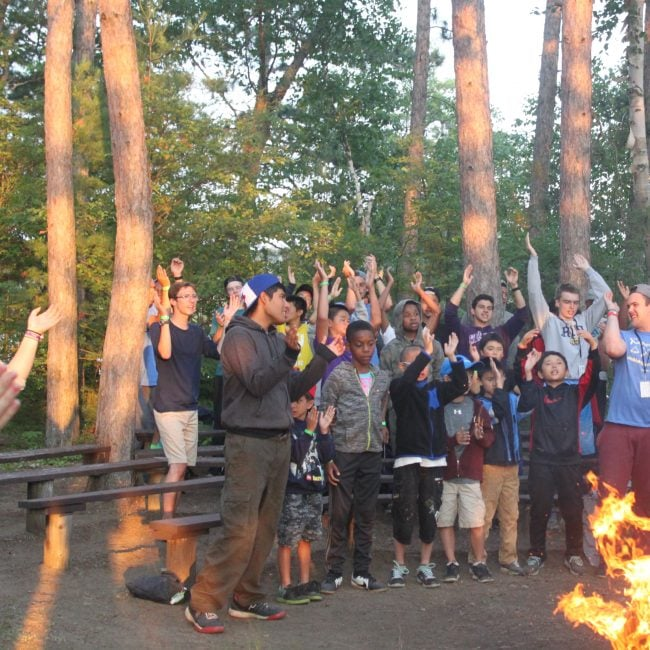 Friday Night Campfire – Campers Share Stories