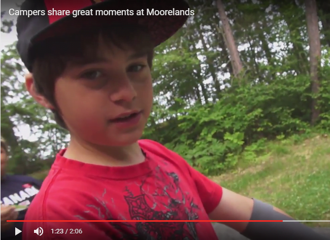 Campers share great moments at camp