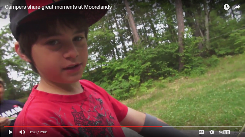 Campers share great moments at Moorelands