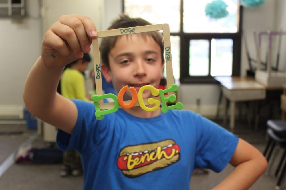 Budding Leaders make frames