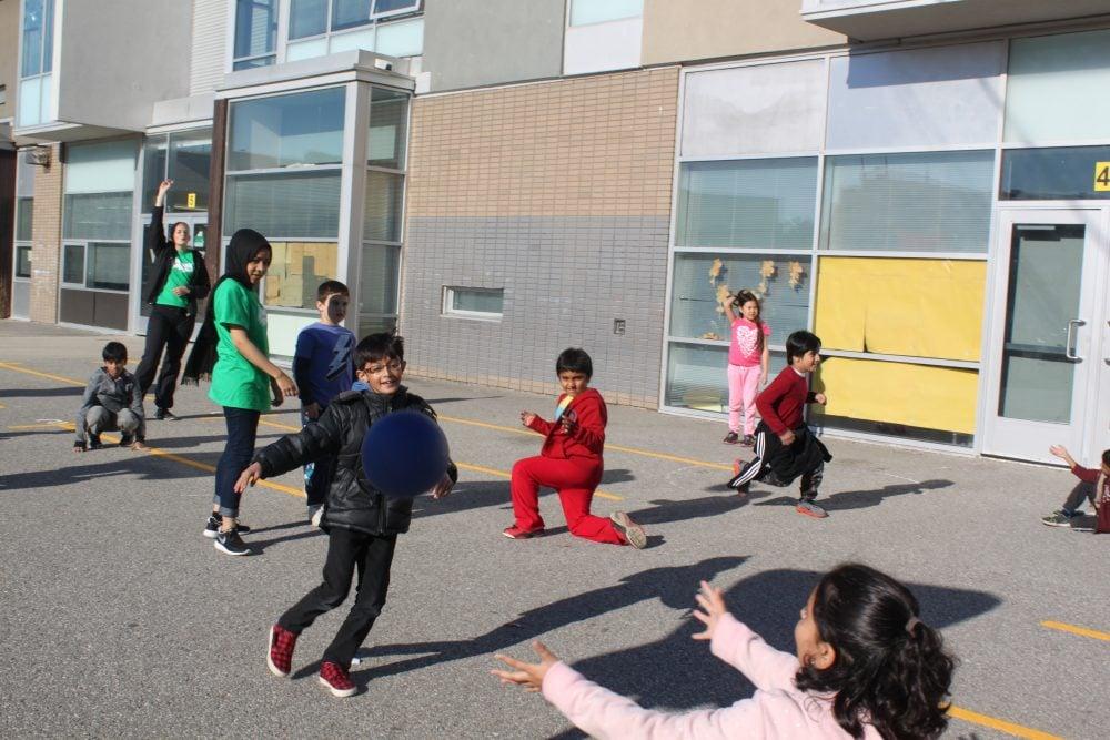 Active kids - basketball training