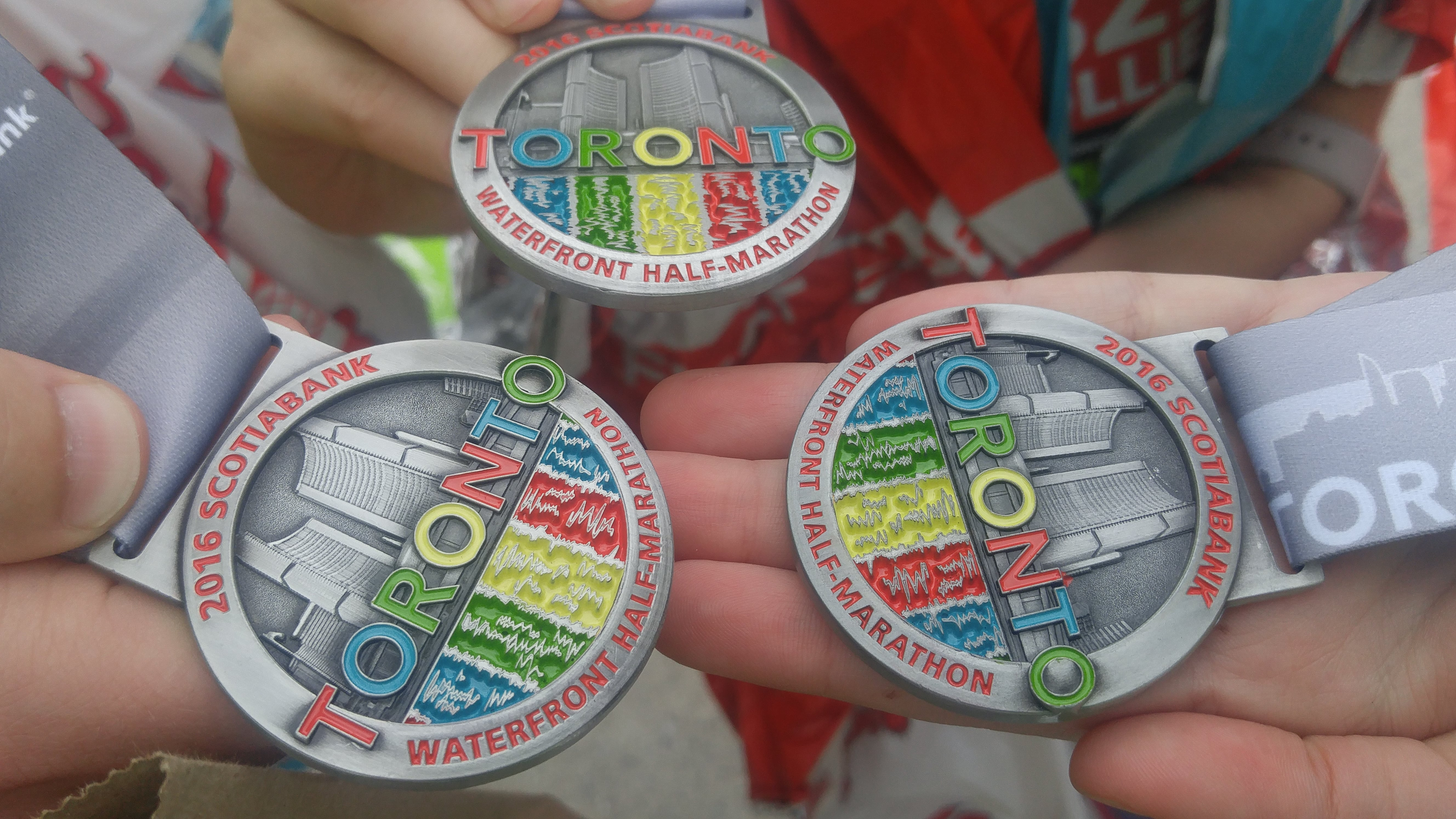 Runners medals STWM 2016