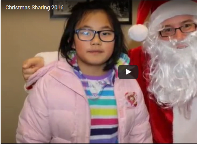 Thank You for Sharing – Christmas 2016