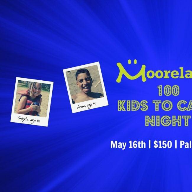 Moorelands – 100 Kids to Camp Night