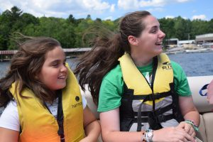 Early Registration: Campers travel to camp by boat.