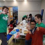 Creating healthy desserts after the active games