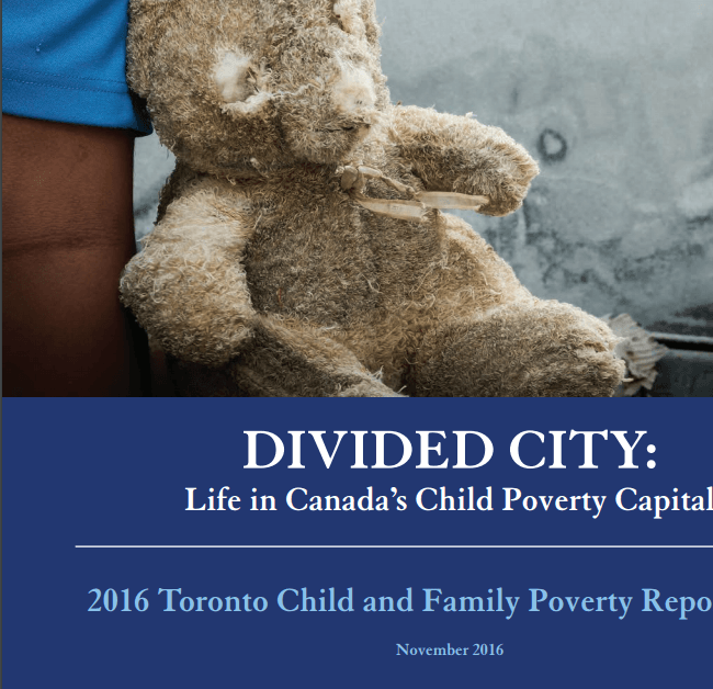 Divided City: Life in Canada's Child Poverty Capital 2016