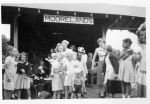 Beaverton Station in the 1950s