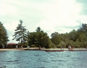 Front Beach viewed from the barge.