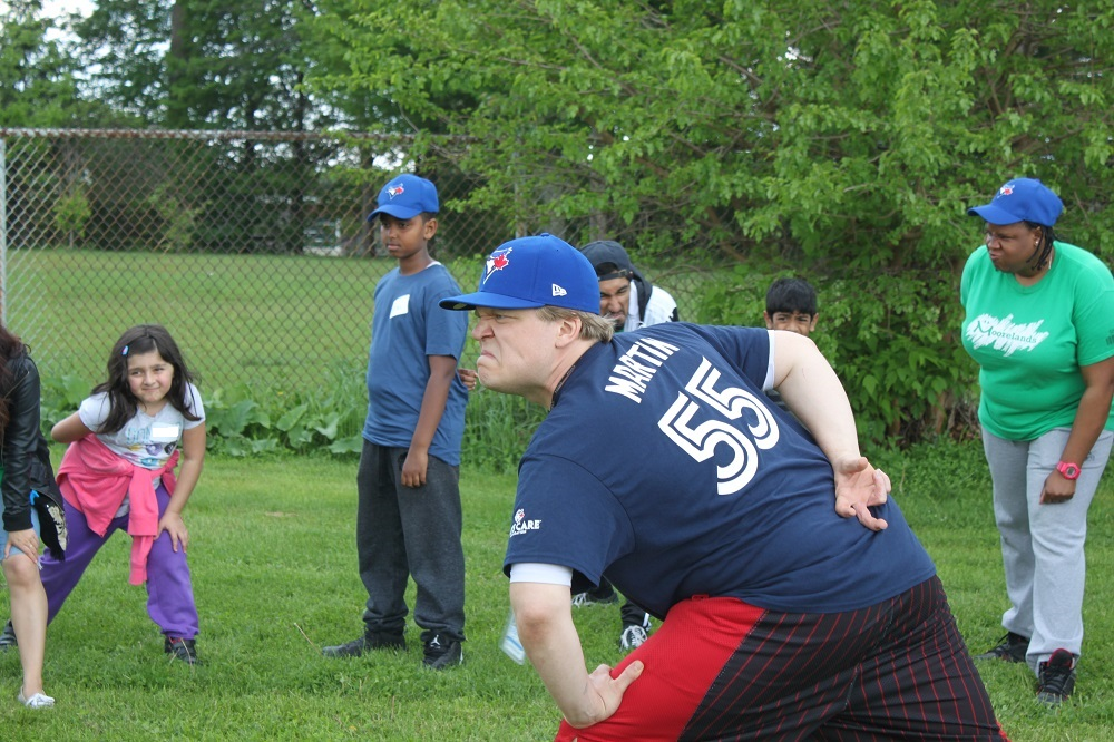 JaysCare Baseball Clinic at BLAST