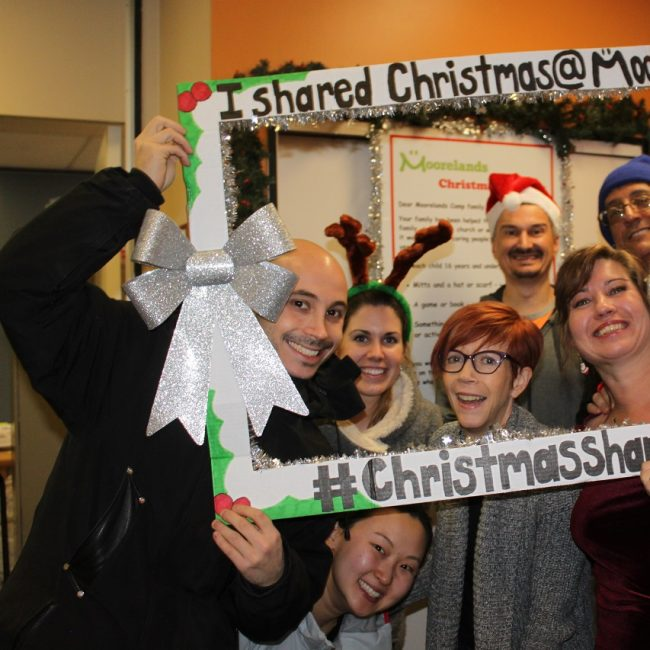 Christmas Sharing Volunteer Sign Up