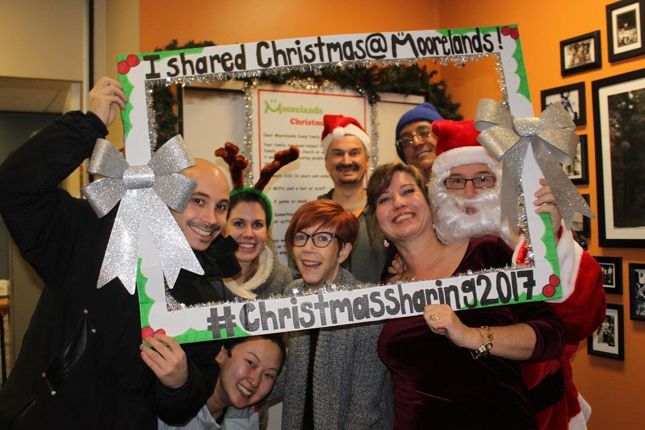 Christmas Sharing volunteers