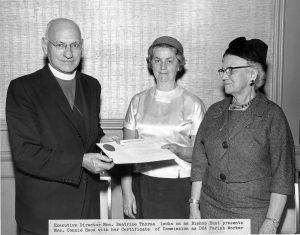 Bishop Hunt, Constance Hood & Beatrice Thorne circa 1962