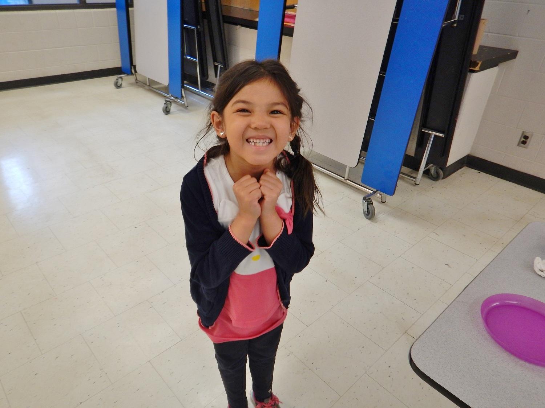 after-school program - smiling girl at BLAST