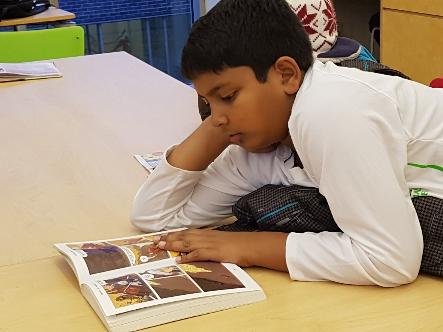 after-school programs - blast boy reading