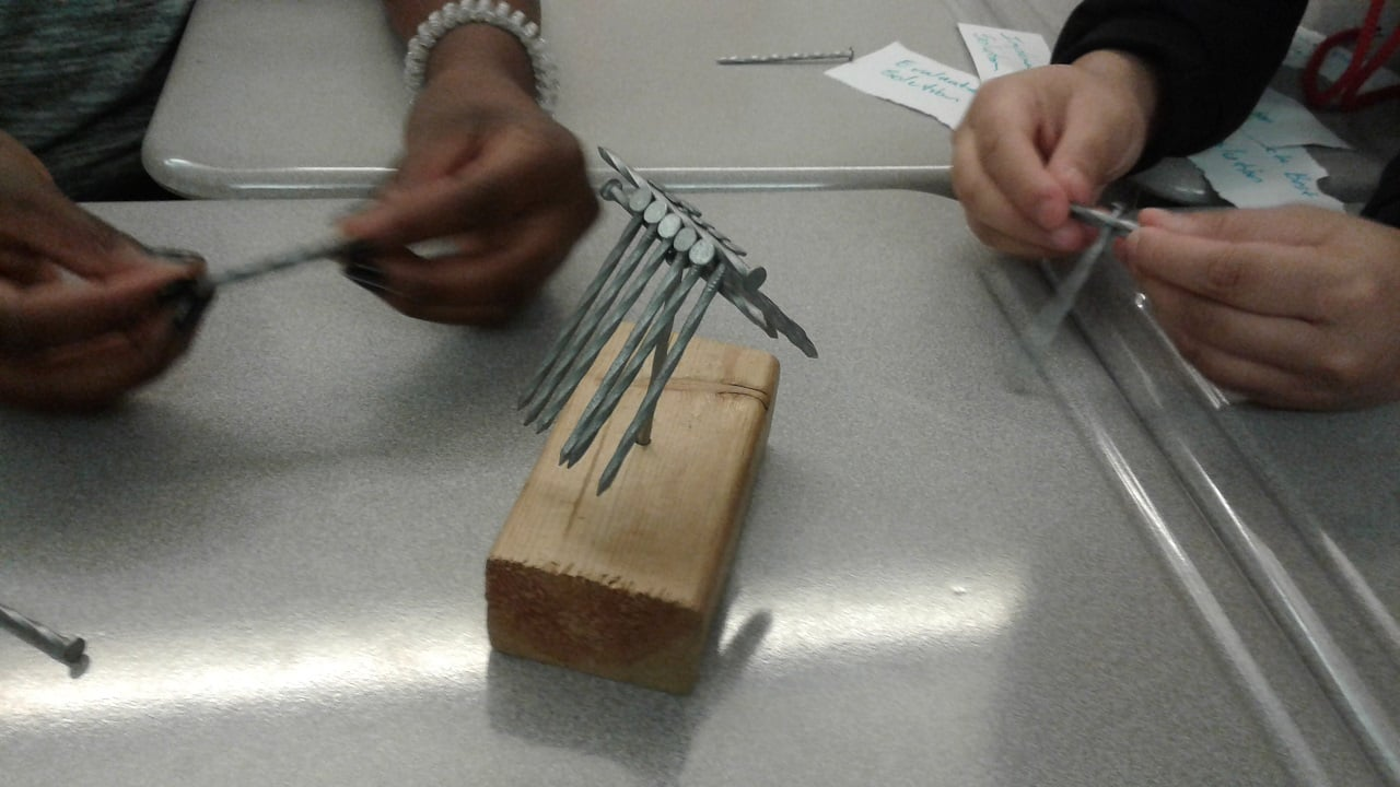 Moorelands Youth LED nail stacking