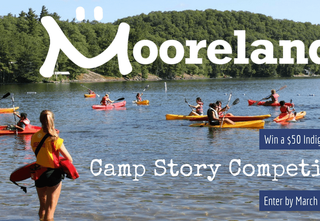 Moorelands Camp Story Competition