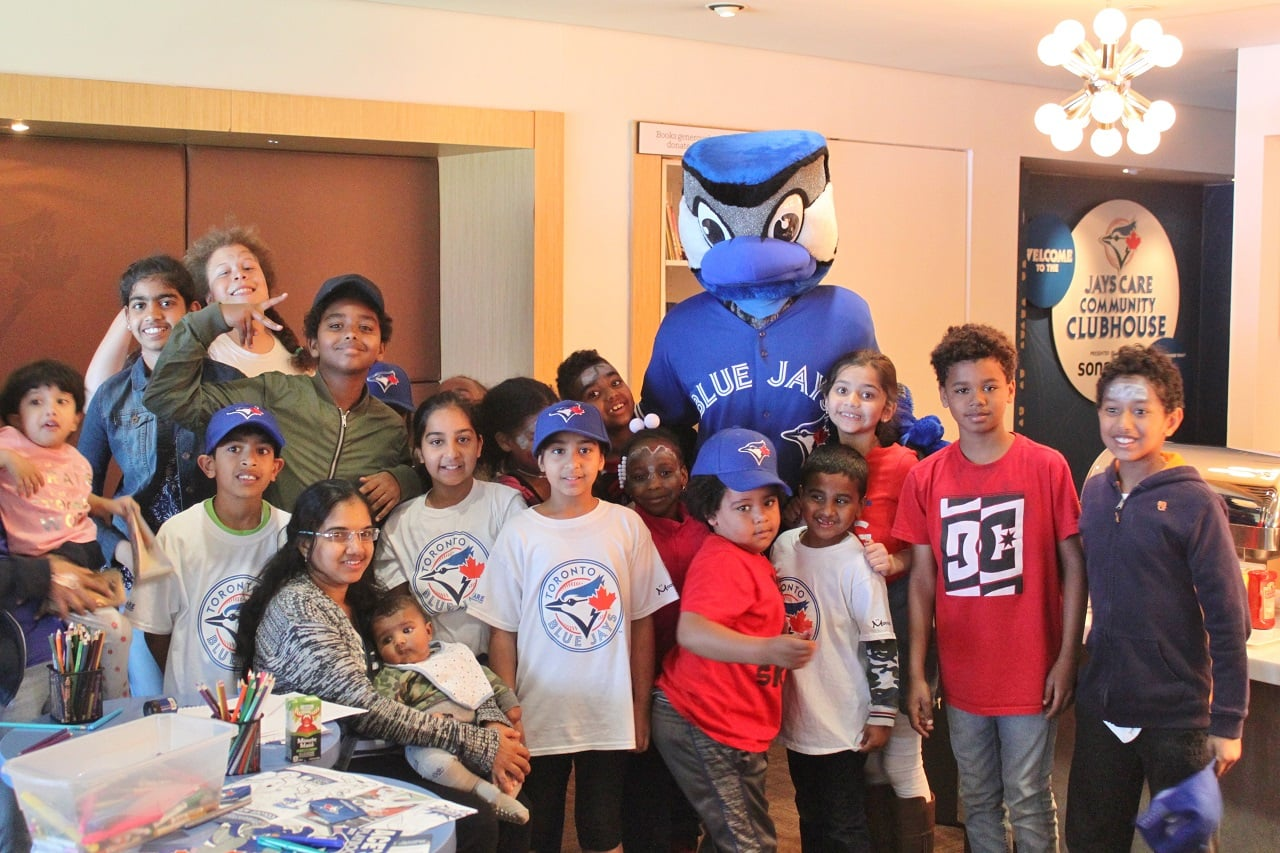 Jays Care BLAST Baseball Celebration Day