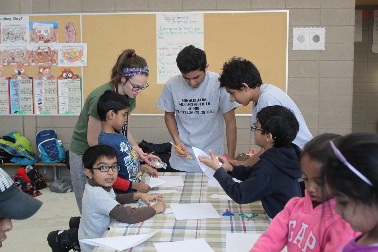 volunteering - leaders grow in skills through fun