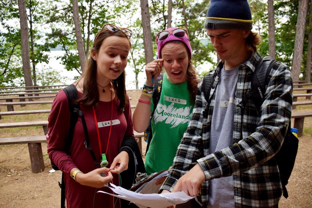 working at Moorelands Camp