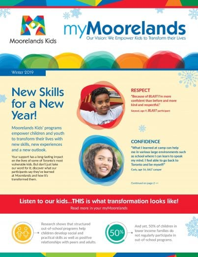 myMoorelands Winter 2019