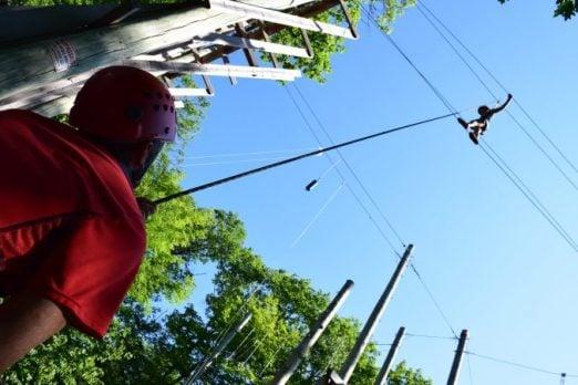 kawagama day camp high ropes