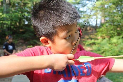 kawagama day camp archery