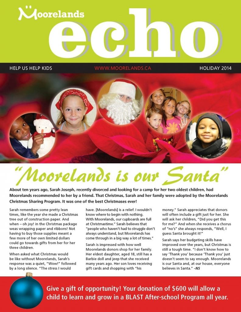 holiday newsletter 2014