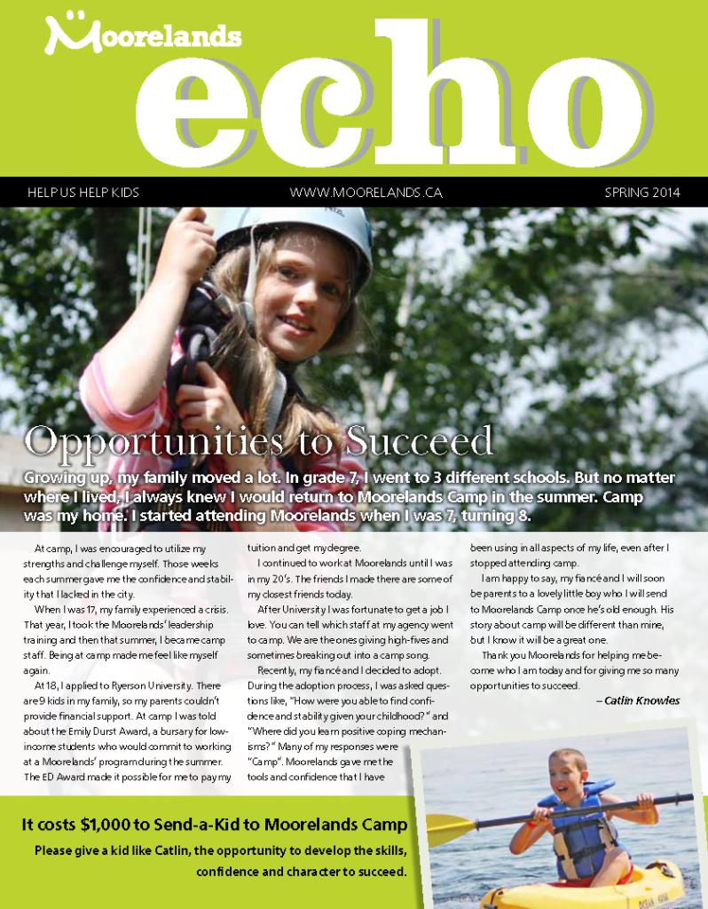 newsletter spring 2014