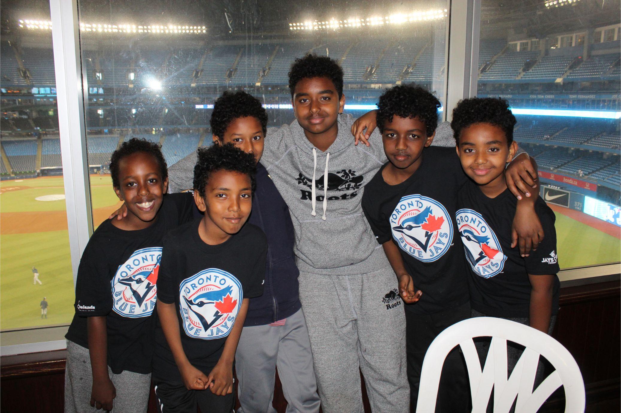 Team BLAST at the Blue Jays