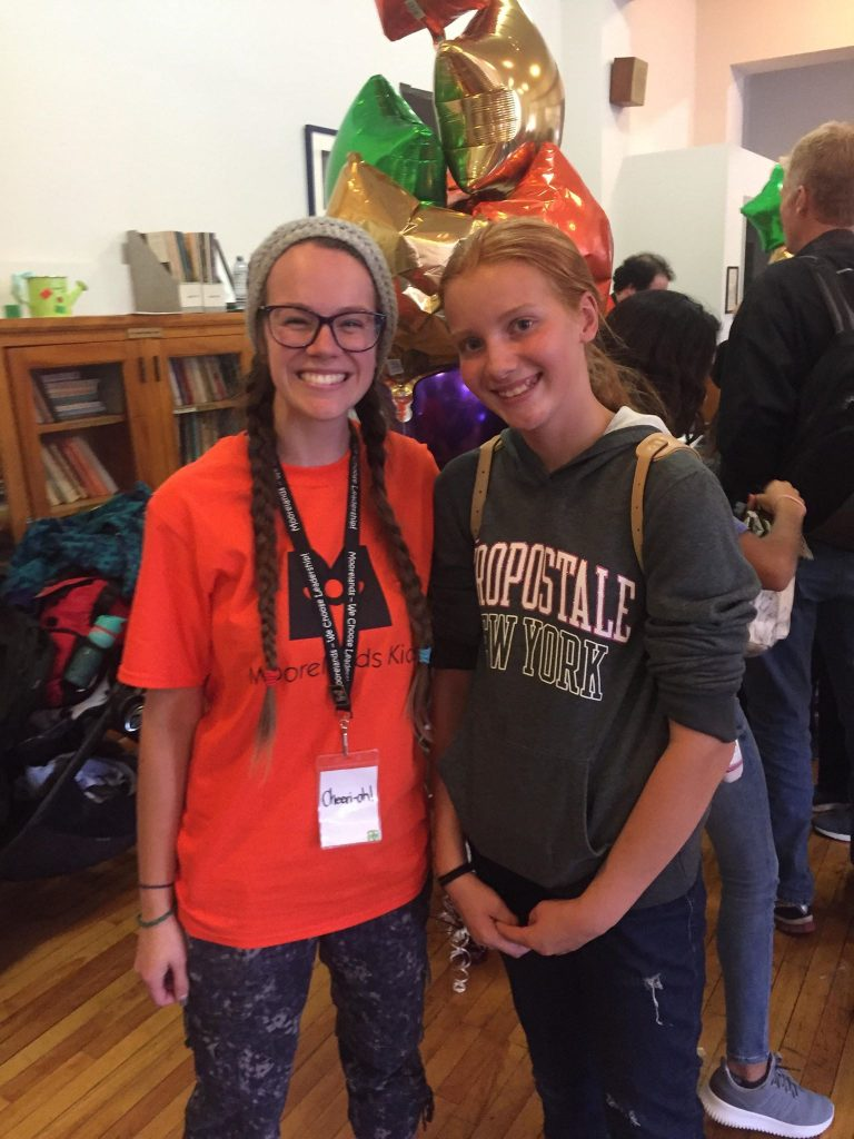 sharing strengths at Moorelands Kids