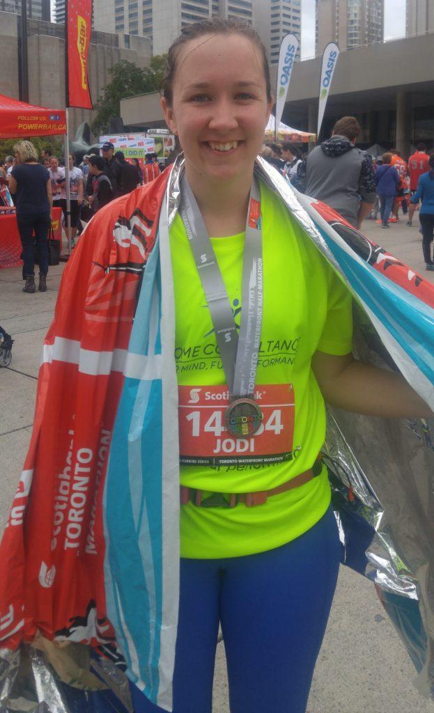 jodi reaching her running goals