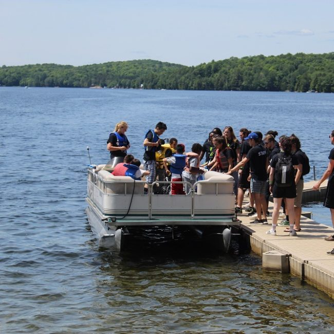 Kawagama Lake Community Raises $64,000 for New Camp Boat!