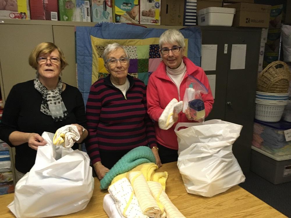 Baby Bundles volunteers