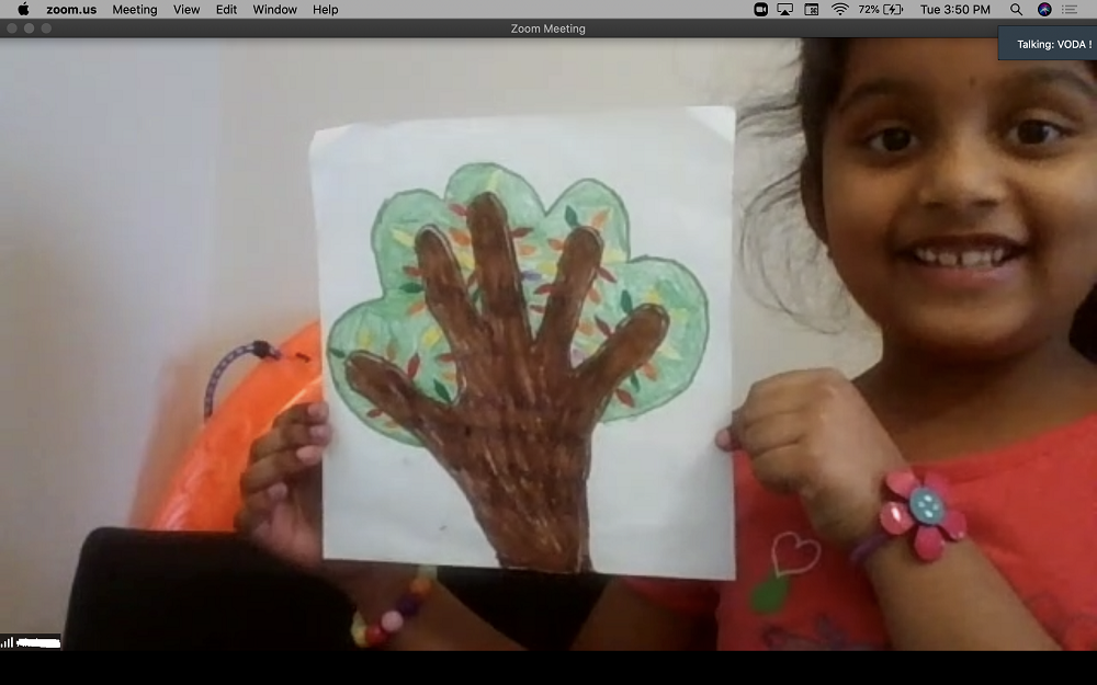 kids being creative, example of motivation
