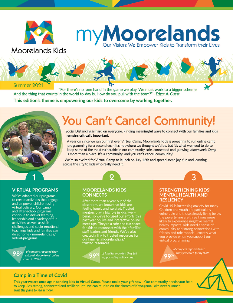 myMoorelands Summer 2021