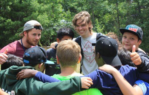 camp teaches teamwork