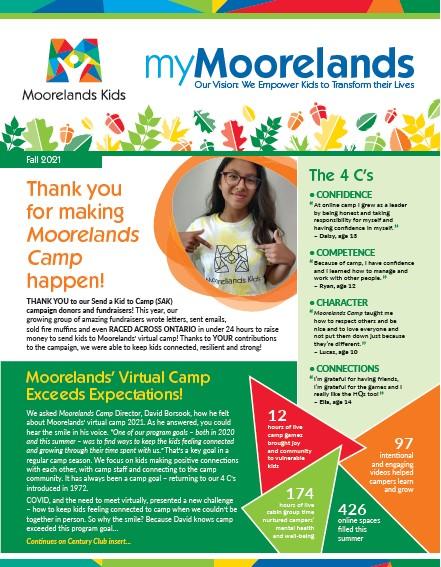 newletter myMoorelands fall 2021